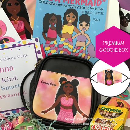 PRE-ORDER Pink Mermaid Cocoa Cutie GOODIE BOX+ RECEIVE FREE $10 GIFT CARD