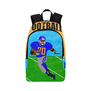 Football Cocoa Cutie Canvas Backpacks(3 Colors)-Boy