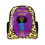 Cocoa Cutie(Keoshia) Leopard Junior Faux Leather Backpack