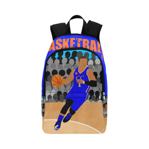 Basketball Cocoa Cutie Canvas Backpacks(3 Skintones)-Boy