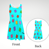 Scientist/Chemist Cocoa Cutie Kid's Sundress-Blue(Four Styles)