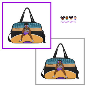 Wrestler Fitness Travel Bags with Separate Shoe Compartment-(2 Styles)-Girl
