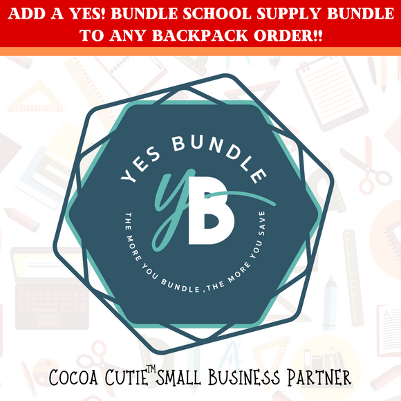 YES! BUNDLE School Supply Bundles-Cocoa Cutie Partner