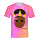 UNICORN YANNA COCOA CUTIE Kids Performance Tee