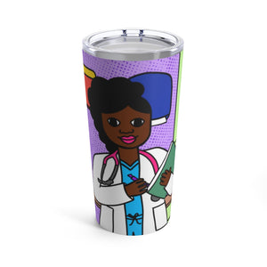 Medical Professional Doctor/Nurse Cocoa Cutie Yanna Tumbler 20oz