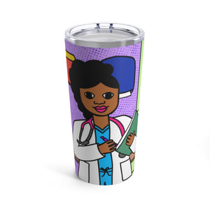 Medical Professional Doctor/Nurse Cocoa Cutie Jordyn Tumbler 20oz
