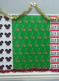 Christmas Tree Girl Gift Wrap-3 Sheet Pack
