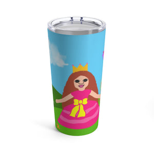 Princess Chantal Cocoa Cutie Stainless Steel Tumbler 20oz