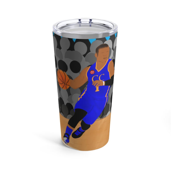 Basketball Bryston Cocoa Cutie Stainless Steel Tumbler 20oz