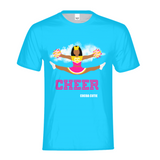 Cheerleader Jordyn/Medium Dark Skin- PINK Kids Performance Tee