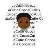 Bow Tie Jayden Cocoa Cutie Kids Performance Tee(Dark Skin)-Boy