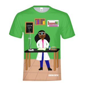 CHEMIST YANNA COCOA CUTIE Kids Performance Tee-Girl