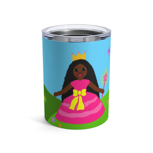 "Princess ""Yanna"" Stainless Steel Kids Tumbler 10oz"