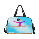 Cocoa Cutie Gymnast Travel Competition Gymnastics Bags with Separate Shoe Compartment(Three Skin Tones)