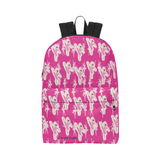 Ballerina Dance Competition Ballet Backpack Bag Pink