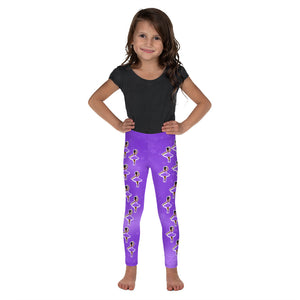 Purple Dancer Yanna Cocoa Cutie Kid's Leggings