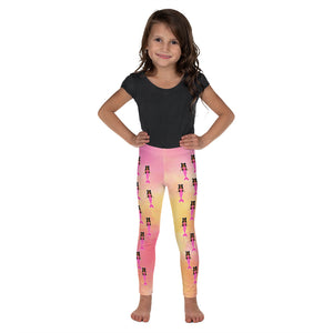 Pink Mermaid Jordyn Cocoa Cutie Kid's Leggings
