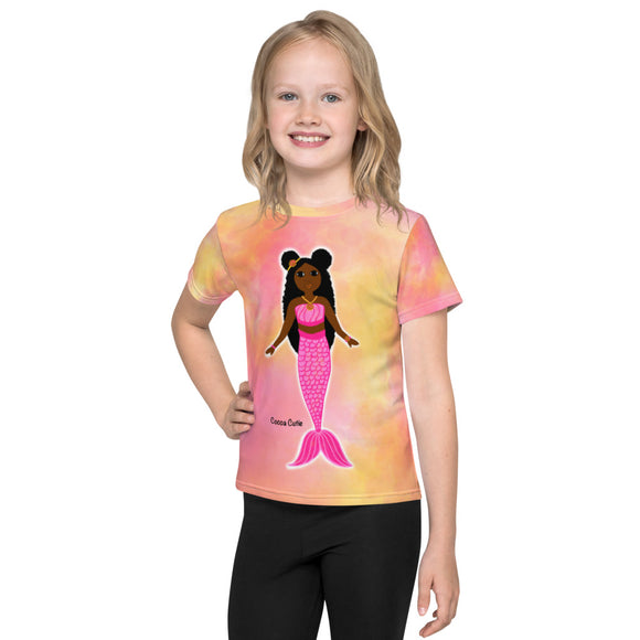 Pink Mermaid Yanna Cocoa Cutie Toddler Kids' Performance Tee