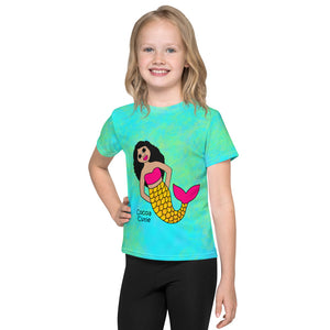 Be A Mermaid Kiara Cocoa Cutie Toddler Kids' Performance Tee
