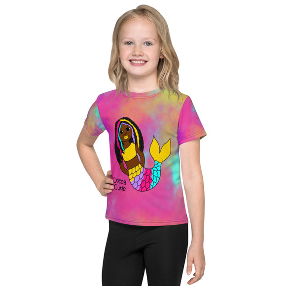 Be A Mermaid Yanna Cocoa Cutie Toddler Kids' Performance Tee