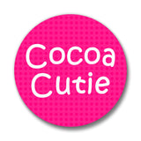 READY SHIP Cocoa Cutie Pin-Back Buttons(THREE DESIGNS)