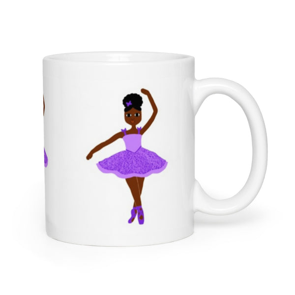 Purple Dancer in the Stars Cocoa Cutie Mug