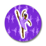 Dance & Ballet Cocoa Cutie Pin-Back Buttons(SIX DESIGNS)