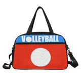 Volleyball Practice Fitness Travel Bags with Separate Shoe Compartment(Two Colors)-GIRL