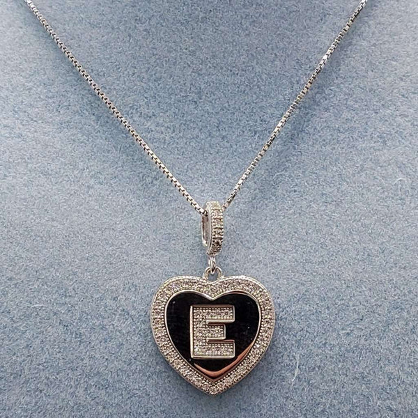Initial Heart Necklace Itsallagift