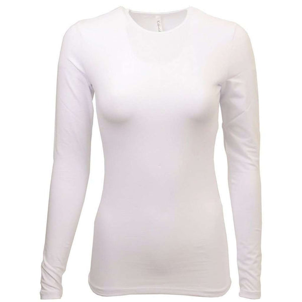 Adults Kiki Riki Shells Long Sleeve / White / Cotton Itsallagift