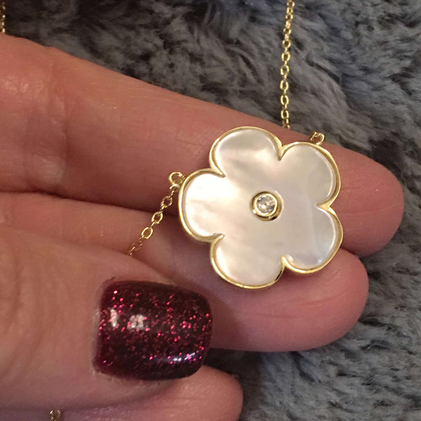 Flower Necklace Itsallagift