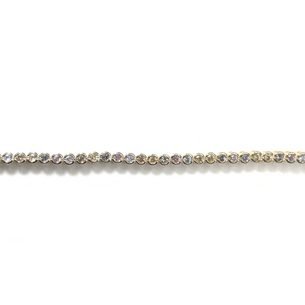 Tennis Bracelet With Soft Rainbow CZ Stones Itsallagift