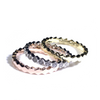 Set Of Tricolor Rings With Hexagon Shape Itsallagift