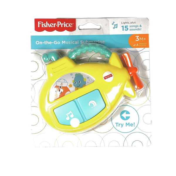 On The Go Musical Submarine Baby Toy Itsallagift