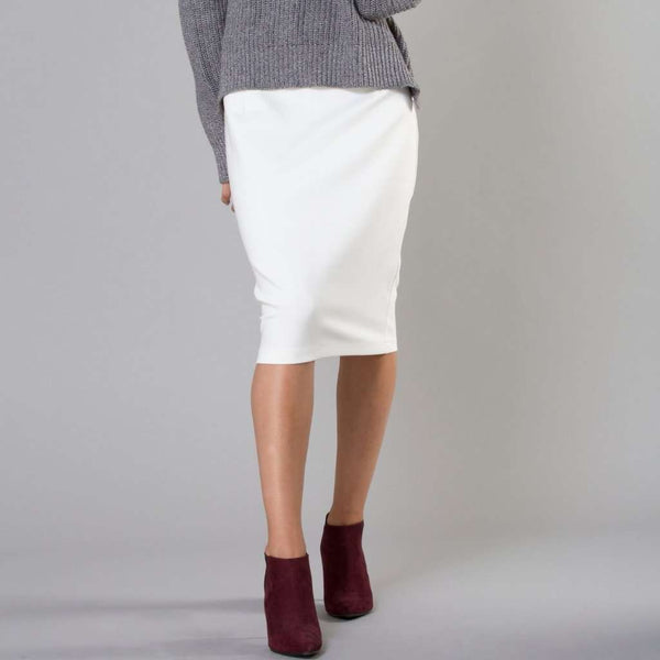 Perfect Pencil Skirt White / 0 Itsallagift