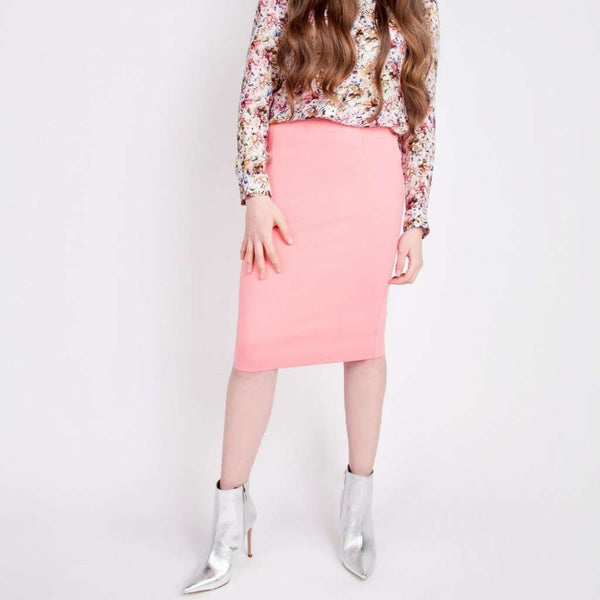 Perfect Pencil Skirt Coral / 0 Itsallagift