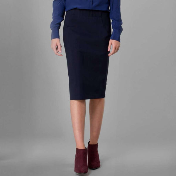 Perfect Pencil Skirt Navy / 0 Itsallagift