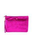PurseN Getaway Large Velvet Makeup Bag - 3 Colors Available! Fuchsia Itsallagift