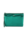 PurseN Getaway Large Velvet Makeup Bag - 3 Colors Available! Emerald Itsallagift