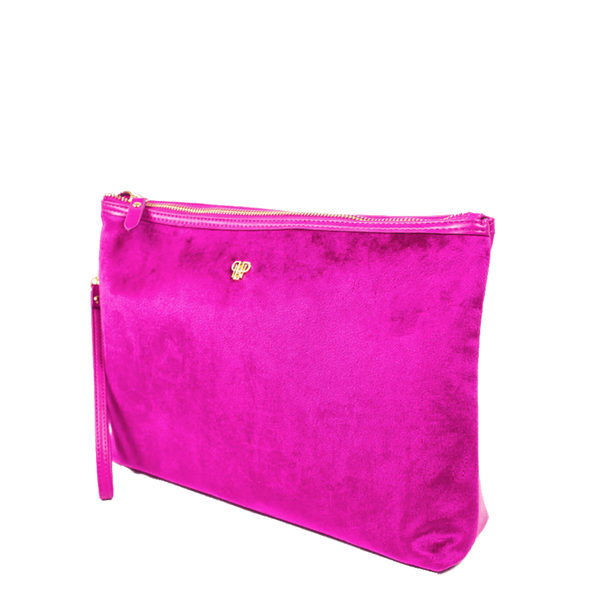 PurseN Getaway Large Velvet Makeup Bag - 3 Colors Available! Itsallagift