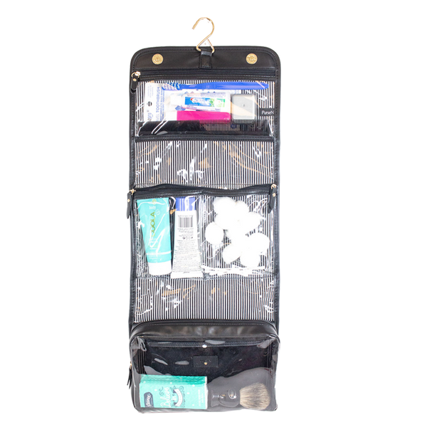 PurseN Getaway Velvet Toiletry Case Itsallagift