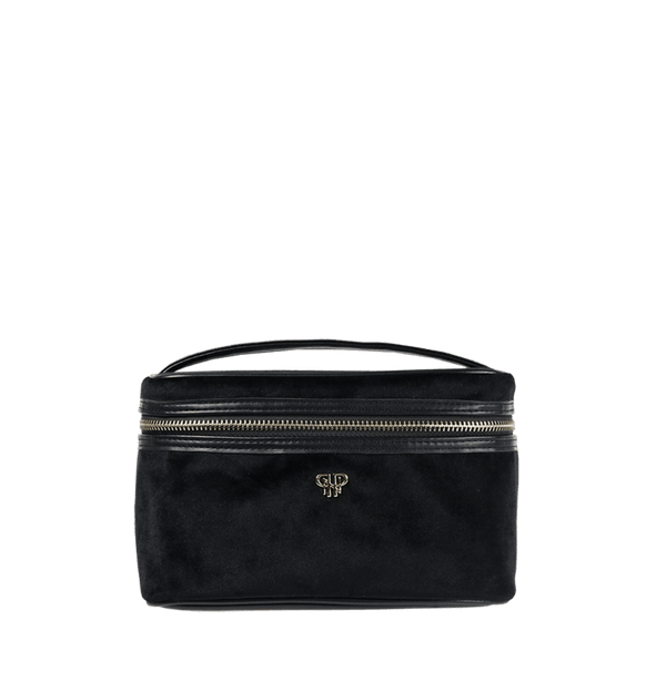 PurseN Getaway Velvet Train Case - 2 Colors Available! Black Itsallagift