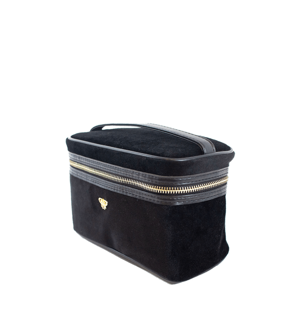 PurseN Getaway Velvet Train Case - 2 Colors Available! Itsallagift