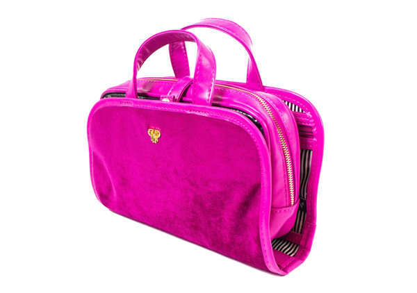 PurseN Getaway Velvet Travel Case Itsallagift