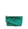 PurseN Getaway Velvet Wristlet Makeup Bag - 3 Colors Available! Emerald Itsallagift