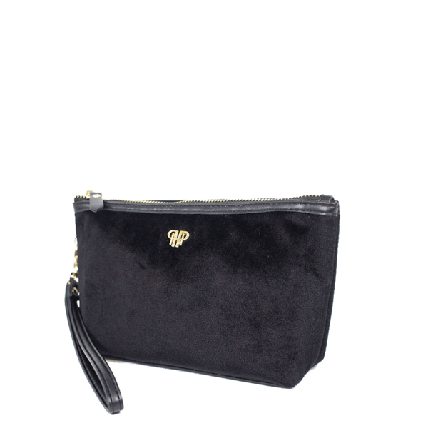 PurseN Getaway Velvet Wristlet Makeup Bag - 3 Colors Available! Itsallagift
