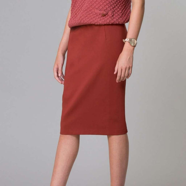 Perfect Pencil Skirt Orange Rust / 0 Itsallagift