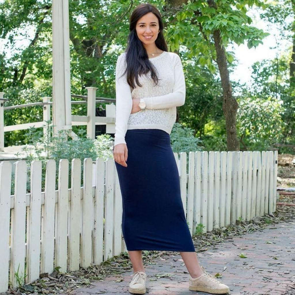 Tube skirt basic colors Navy / XS Itsallagift
