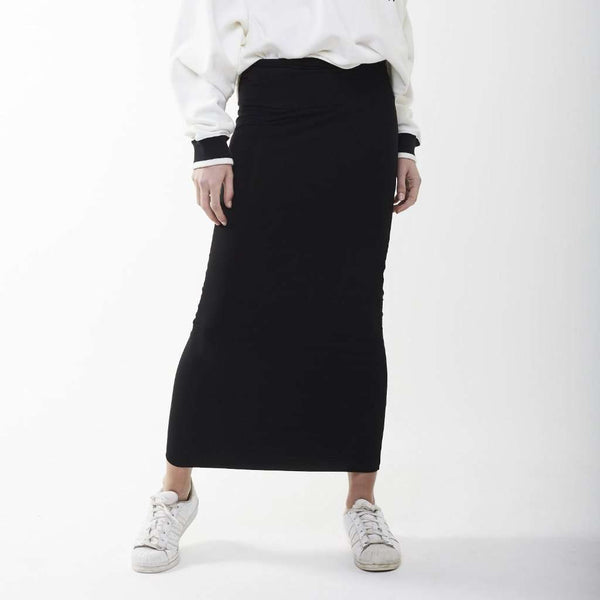 Long Midi Tube Skirt Basic Colors Itsallagift