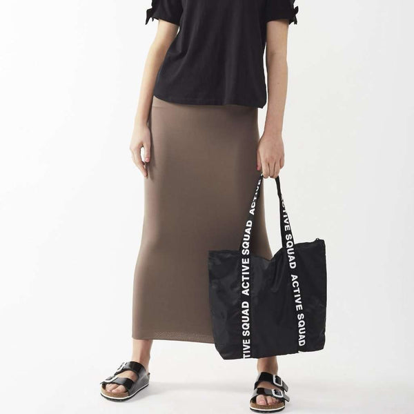 Long Midi Tube Skirt Seasonal Colors Mushroom / Small Itsallagift